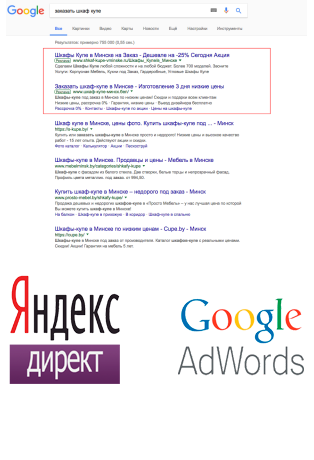 Контекстная реклама продвижение сайтов